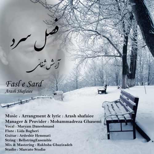 دانلود آهنگ فصل سرد از آرش شفائی